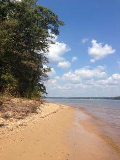 Lake Wateree - Eastern part of South Carolina