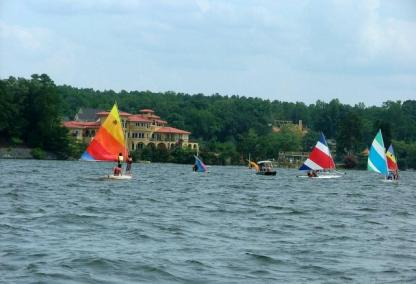 Lake Wylie - The oldest lake on the Catawba River